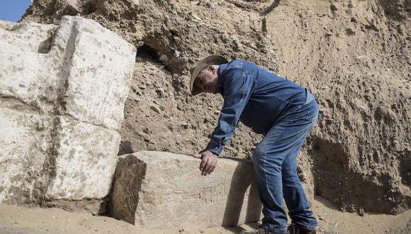 El famoso arqueólogo Zahi Hawas está al frente de la misión responsable del hallazgo en Luxor. (Foto: Khaled DESOUKI / AFP).