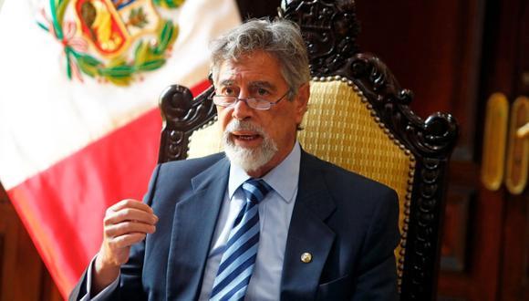 Francisco Sagasti se pronunció sobre los comentarios de Ernesto Bustamante respecto a la vacuna de Sinopharm. (Foto: archivo Twitter @presidenciaperu)