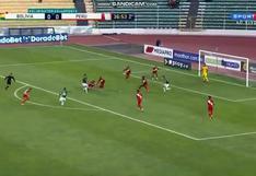 Perú abajo en el marcador: Ramiro Vaca puso el 1-0 de Bolivia en las Eliminatorias (VIDEO)