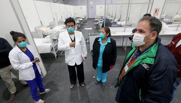 Hospital Modular de Cusco casi listo para recibir hasta 100 pacientes con COVID-19 (FOTOS)