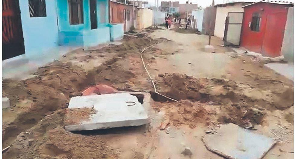 Nuevo Chimbote: 200 familias tenían conexiones clandestinas