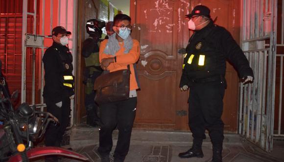 Las personas que violaban las medidas sanitarias fueron conducidas a la comisaría de Gregorio Albarracín. (Foto: Difusión)