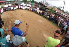 Comunidades indígenas anuncian paro de cuatro días en Loreto