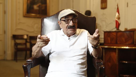 El congresista Enrique Fernández Chacón se refirió a la situación de Martín Vizcarra. (Foto: Anthony Niño de Guzmán / @photo.gec)