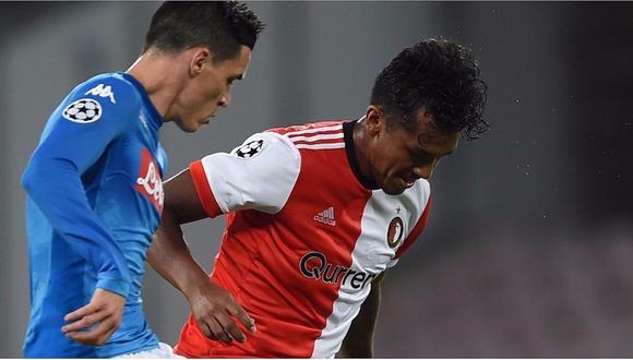 Champions League: Renato Tapia cometió este error que le costó un gol al Feyenoord  (VIDEO)