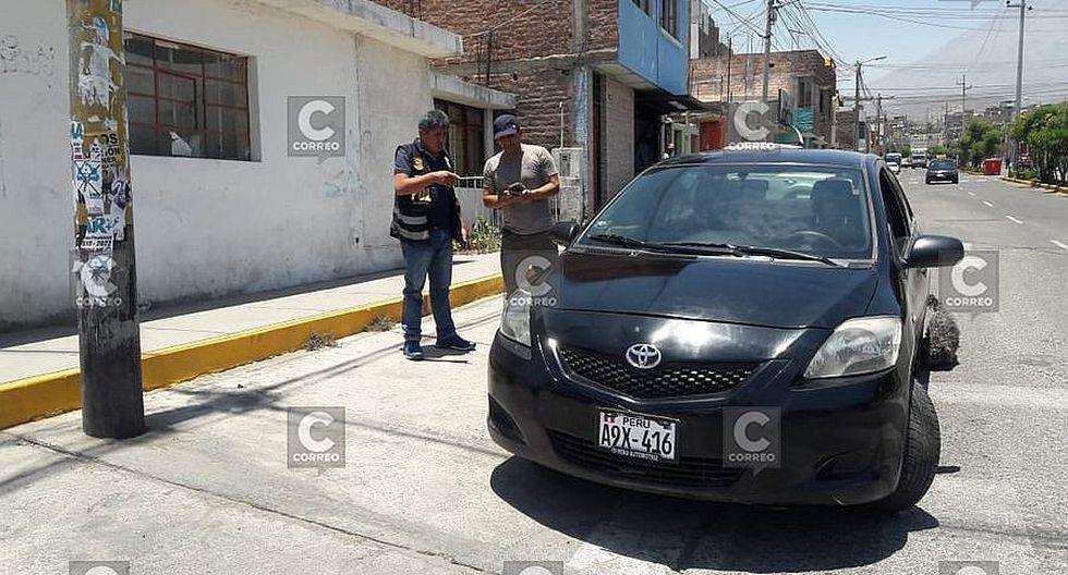 Agentes de Uprove recuperan vehículo robado  y detienen a un sospechoso