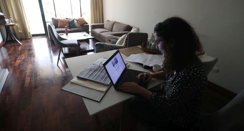 Trabajo remoto. (Foto: Alessandro Currarino / GEC)