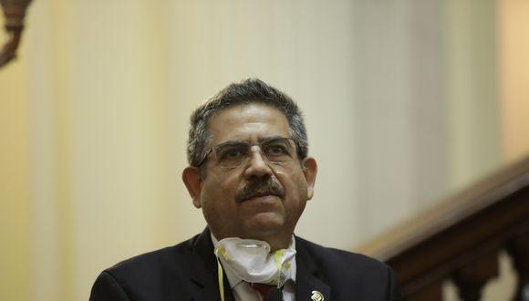 Merino de Lama felicitó al congresista que insultó a Vizcarra por pedir disculpas públicas (Fotos: Anthony Niño de Guzman \ GEC)