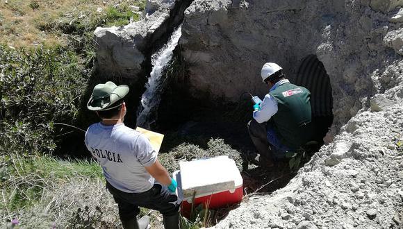 Investigan vertimiento de aguas residuales y contaminación en Tarata