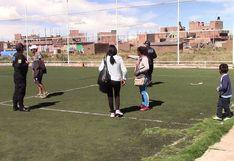 Juliaca: Familia jugaba fulbito y vóley en Estado de Emergencia