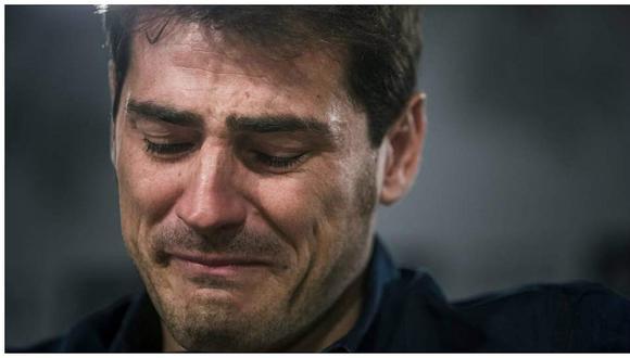 Esta fue la emotiva reacción de Casillas tras la victoria del Real Madrid (FOTOS)