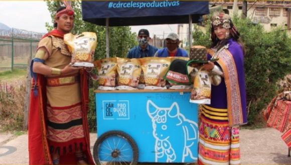 Cusco: Penal de Varones presentó su panetón Inti Raymi y venderá 5 mil unidades (Foto: INPE)
