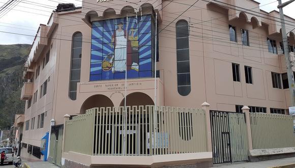Corte Superior de Justicia de Huancavelica.