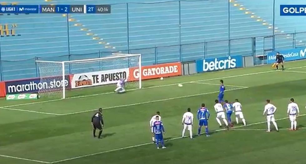 Ricardo Lagos se lució en el penal para el 2-2 del Universitario-Mannucci (VIDEO)