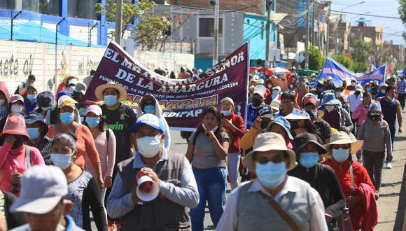 Gobierno Regional de Arequipa no informa a pobladores avance del proyecto de agua  Foto: Eduardo Barreda