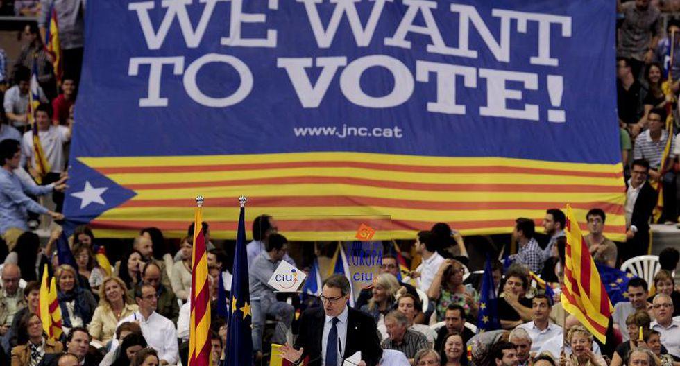 Cataluña renunció a realizar consulta independentista