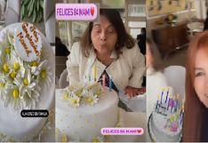 Magaly Medina festeja el cumpleaños número 84 años de su madre (VIDEO)