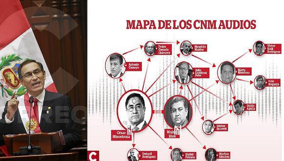 """Martín Vizcarra subraya reforma judicial: """"Si no se hubieran revelado los audios, todo continuaría igual"""""""