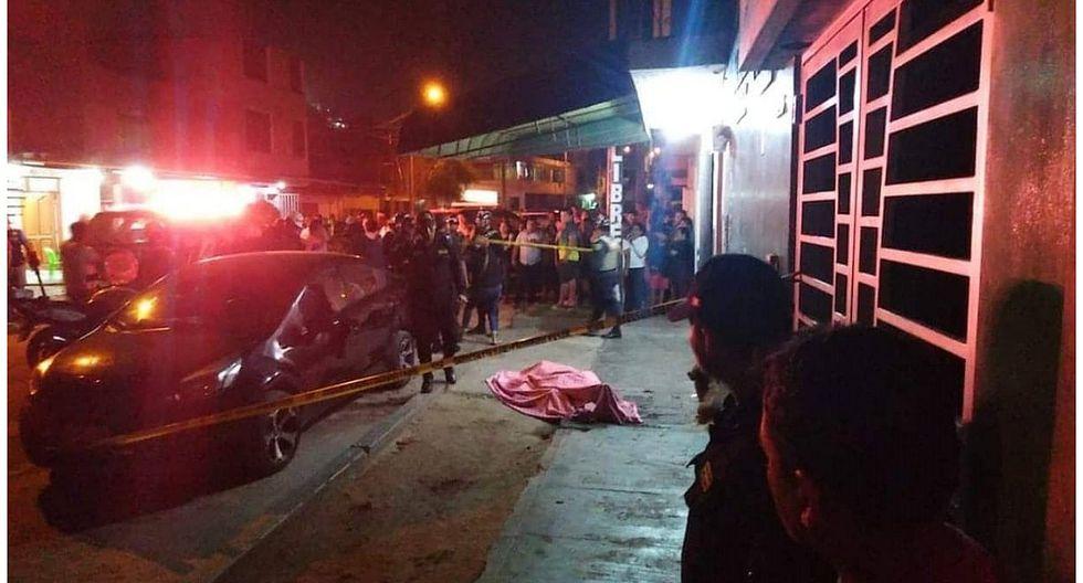 """Sicarios asesinan de tres balazos al """"Gato Mendo"""""""