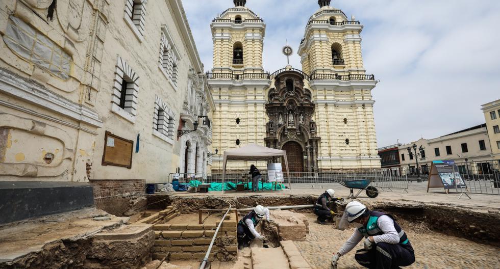 Hallan capilla del año 1600 debajo de la iglesia San Francisco en Cercado de Lima (VIDEO)