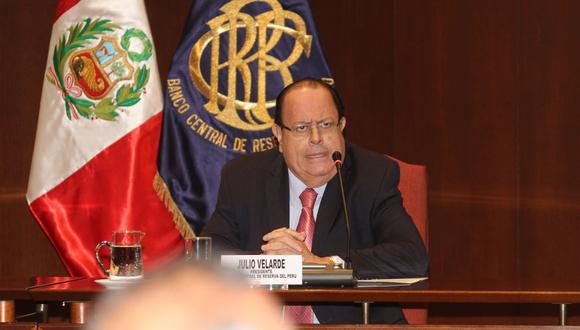 Julio Velarde volverá a ser presidente del Banco Central de Reserva. (Foto: GEC)