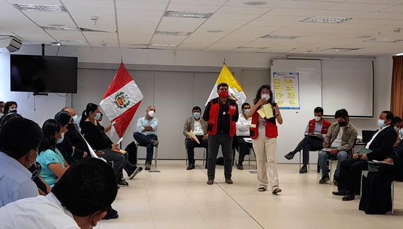 Ica: trabajadores agrarios sostienen reunión con representantes del Ejecutivo (Foto: Gore Ica)