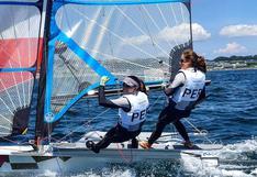 María Pía Van Oordt y Diana Tudela completaron segundo día de competencia en vela en Tokio 2020