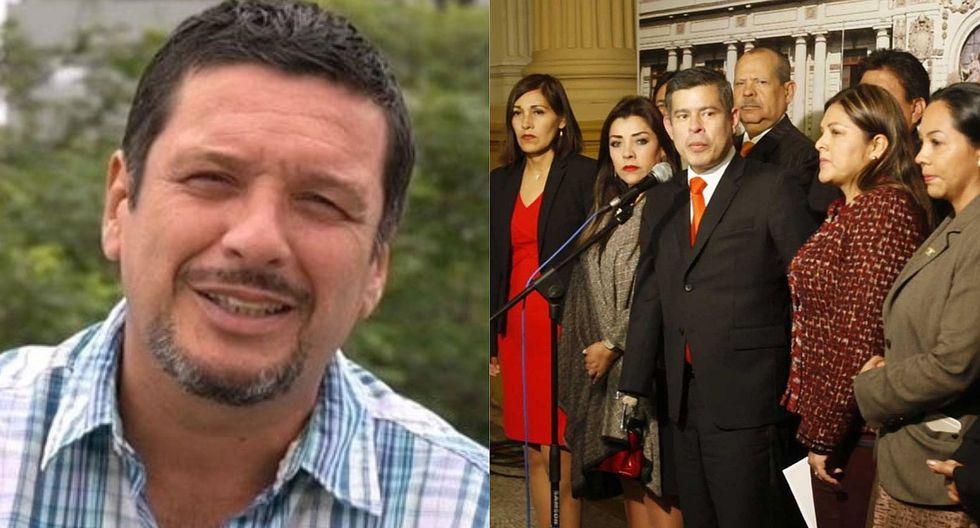 """Lucho Cáceres sobre canteras de Fuerza Popular: """"La cosecha de estiércol nunca se acaba"""""""