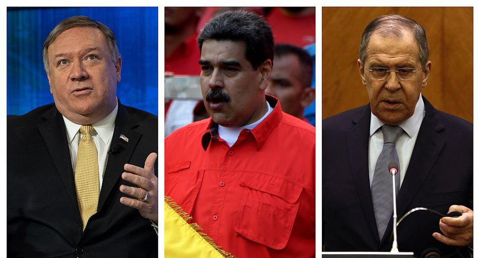 """Secretario de EE.UU. a su par ruso: """"Moscú está desestabilizando a Venezuela"""""""