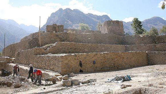 Destinan 17 millones de soles para recuperar monumentos arqueológicos en Cusco (FOTOS)