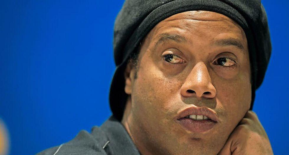 """Ronaldinho incursiona en la música rap con el tema """"Garra"""" (VIDEO)"""