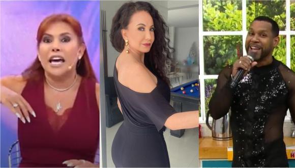 "Magaly Medina sobre Janet Barboza por llamar ""arroz quemado"" a 'Giselo': ""Ella es chabacana"" (VIDEO)"