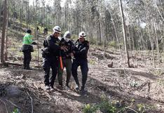 Perros salvan a siete jóvenes de morir por hipotermia al perderse en cerro de Huancayo (VIDEO)