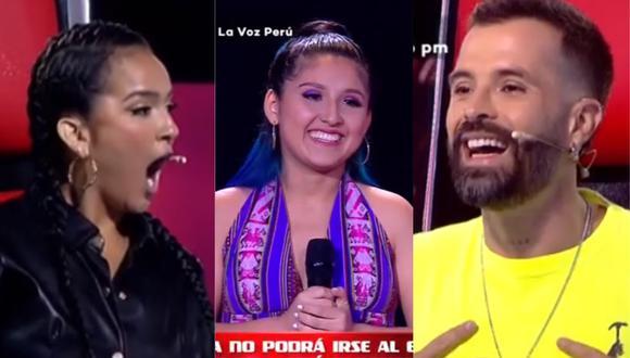 """Daniela Darcourt y Mike Bahía se enfrentan por participante de """"La Voz Perú"""". (Foto: Captura Latina)"""