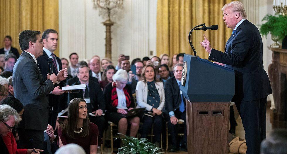 CNN demanda a Trump por vetar el acceso a la Casa Blanca a su corresponsal