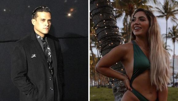 """Pese a la ausencia del panelista en el programa """"América Hoy"""", la popular bailarina se refirió a él y dijo que sería un buen jurado.   (Foto: Instagram / @isabelacevedoarenas / @christiandominguezof)."""