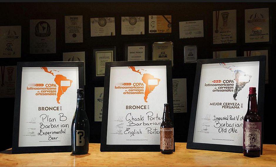 Barbarian fue premiada como la mejor cervecería peruana artesanal 2018