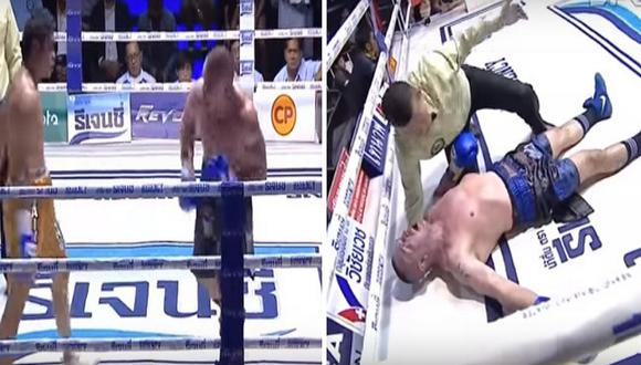 Fallece reconocido luchador de Muay Thai tras ser noqueado por su oponente (VIDEO)