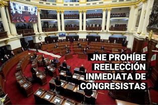 JNE: Congresistas del actual Parlamento y los elegidos en este año no podrán postular en el 2021