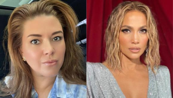 Alicia Machado desata polémica tras criticar la cabellera de Jennifer Lopez. (Foto: Instagram)