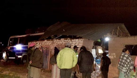 Fruto del accidente 9 personas resultaron heridas, dos de ellas de gravedad. (Foto: Difusión)