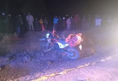 Dos muertos deja racha de accidentes en la provincia de San Román