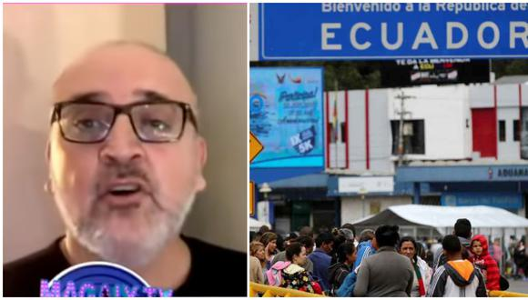 Beto Ortiz pide mayor resguardo en la frontera de Perú con Ecuador ante crisis por coronavirus.
