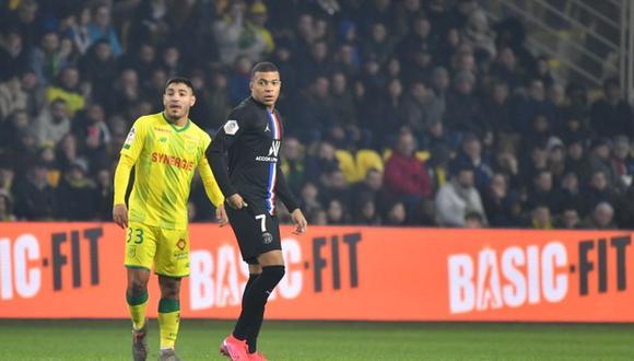 El lateral tuvo la difícil tarea de marcar a Mbappé, que intentó desbordarlo en reiteradas ocasiones.