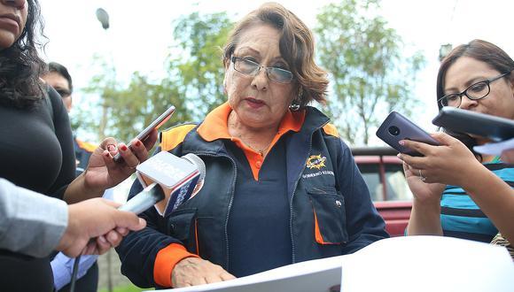 Región designa a Nancy Quiroz al frente de COER para atención de desastres