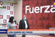 ¿En qué invirtieron los partidos políticos los fondos públicos financiados por todos los peruanos? (VIDEO)