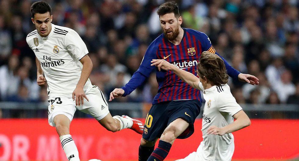Barcelona vence 1 a 0 a Real Madrid y se vuelve a imponer en el Bernabéu