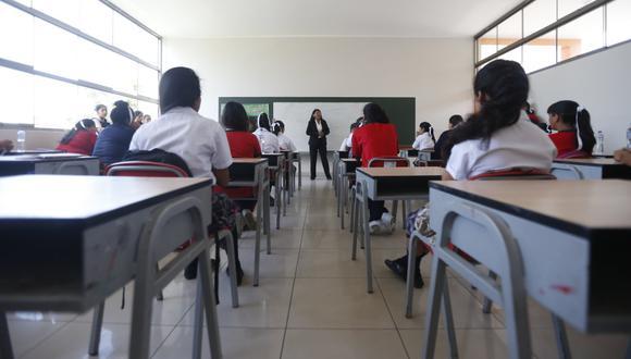 En veremos. Las clases presenciales en colegios aún no tienen fecha de inicio de manera oficial (GEC).