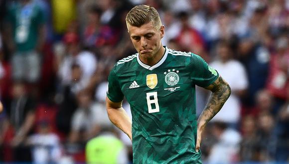 """Toni Kroos tras quedar fuera del Mundial: """"No tomamos el partido como una final"""""""