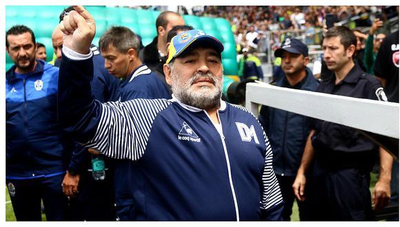 Diego Maradona no es más técnico de Gimnasia y Esgrima La Plata